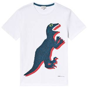 Paul Smith Junior Dino Print T-shirt White 10 years