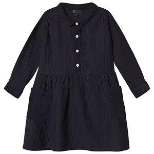 Bonton Pocket Dress Bleu Lune 6 Years