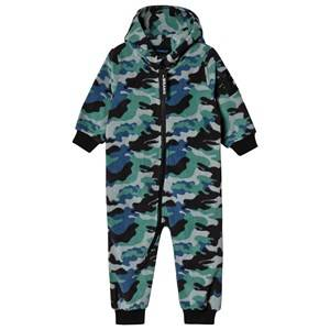 The BRAND Fleece Onesie Blue Camo 92/98 cm