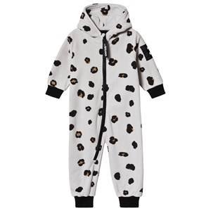 The BRAND Big Leo Fleece Onesie Grey 80/86 cm