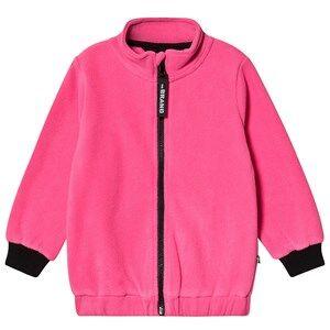 The BRAND Fleece Jacket Neon Pink 80/86 cm