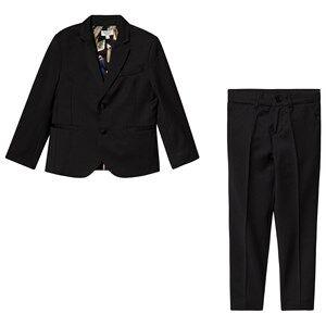 Paul Smith Junior Vitto Suit Black 5 years
