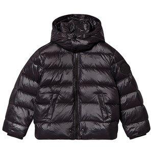 Diesel Color Block Puffer Jacket Black 16 years