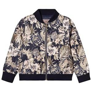 Creamie Jacquard Bomber Jacket Total Eclipse 110 cm (4-5 Years)