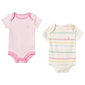 Image of Tom Joule 2-Pack Snazzy Baby Bodies Pink 9-12 months