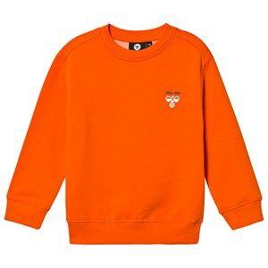 Image of Hummel Howie Sweatshirt Orange 104 cm (3-4 Years)