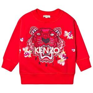 Kenzo Tiger Sweatshirt Red 14 years