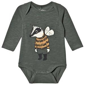 Image of Soft Gallery Bob Baby Body Dark Forest 9 months