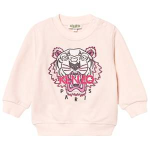 Kenzo Tiger Baby Sweatshirt Light Pink 6 months