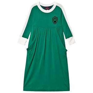 The Animals Observatory Cockatoo Dress Electric Green Shield 2 Years