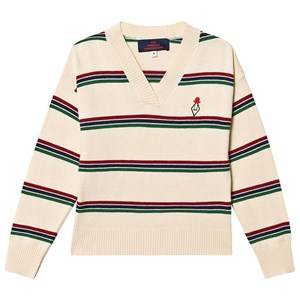 Image of The Animals Observatory Toucan Sweater Raw White 4 Years