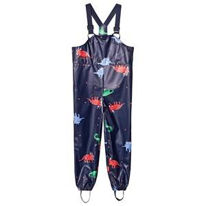 Tom Joule Splashwell Rain Overalls Navy Dino M (5-8 years)