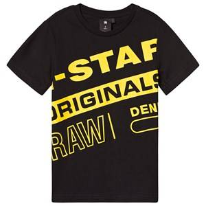 G-STAR RAW Large Logo Tee Black 10 years