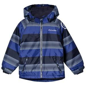 Minymo Oxford Snow Jacket Placid Blue Winter coats