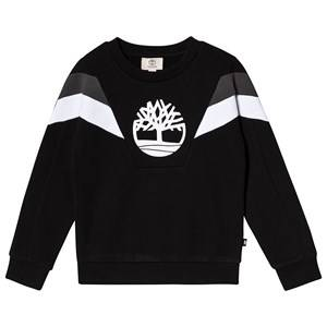 Timberland Contrast Big Tree Sweatshirt Black 6 years
