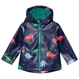 Tom Joule Dino Skipper Raincoat Navy Raincoats