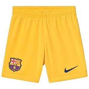 Image of Barcelona FC FC Barcelona Stadium Soccer Shorts Yellow XL (13-15 years)