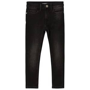 Image of Calvin Klein Jeans High Rise Skinny Jeans Black Denim 16 years