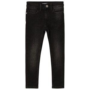 Image of Calvin Klein Jeans High Rise Skinny Jeans Black Denim 10 years