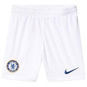 Image of Chelsea FC Chelsea FC Stadium Soccer Shorts White/Blue XL (13-15 years)