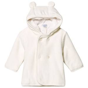 Image of Absorba Hooded Knit Cardigan Cream 12 months