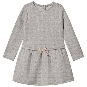Image of Absorba Sweat Dress with Silver Detail Grey 18 months