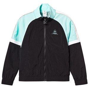 Puma PUMA x Diamond Tracksuit Jacket Black/Teal/White 5-6 years