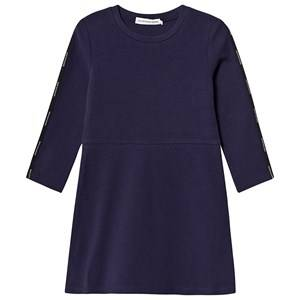Image of Calvin Klein Jeans Logo Tape Dress Navy 8 years