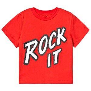 Stella McCartney Kids Rock It T-Shirt Red 4 years