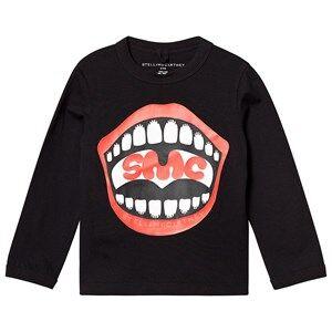 Stella McCartney Kids SMC Smiles Sweatshirt Black 10 years
