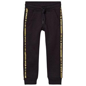 G-STAR RAW Logo Tape Sweatpants Black 8 years