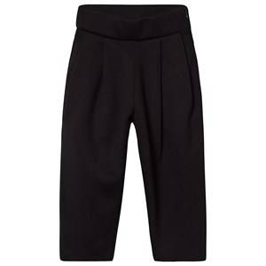 Creative Little Creative Factory Neoprene High Waist Trousers with Tan Lining Black 14 years