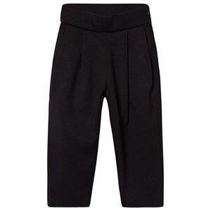 Creative Little Creative Factory Neoprene High Waist Trousers with Tan Lining Black 8 years