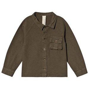 Creative Little Creative Factory Shirt with Pocket Detail Khaki 8 years