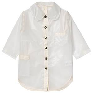 Creative Little Creative Factory Rain Coat White Pocket Detail Raincoats