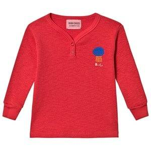 Bobo Choses Mercury Buttons T-Shirt Sun Dried Tomato 12-18 Months