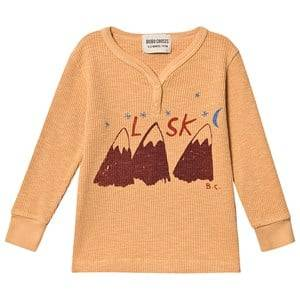 Bobo Choses Alaska Buttons T-Shirt Gold Earth 18-24 Months