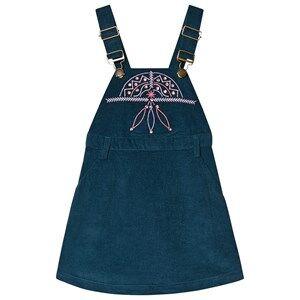 Velveteen Jewelled and Embroidered Velvet Dress 5 years