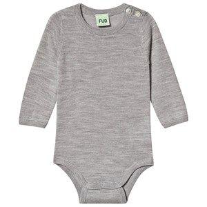 Image of FUB Baby Body Light Grey 62 cm (2-4 Months)