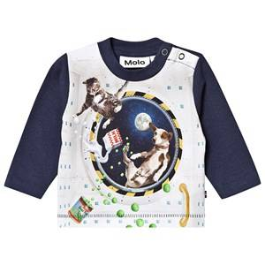 Molo Enovan T-Shirt Space Supper 86 cm (1-1,5 Years)