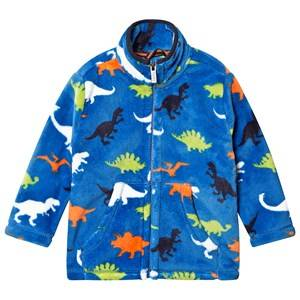 Hatley Fleece Jacket Blue Dino Herd 4 years