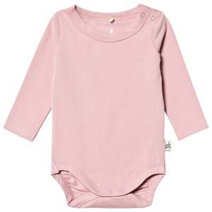 A Happy Brand Long Sleeve Baby Body Rose 62/68 cm