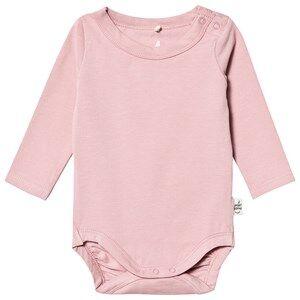 A Happy Brand Long Sleeve Baby Body Rose 62/68 cm