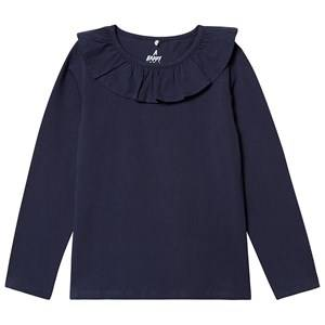 A Happy Brand Flounce Top Navy Night 110/116 cm