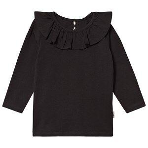A Happy Brand Flounce Top Black 122/128 cm