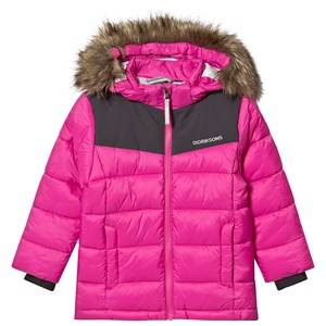 Didriksons Digory Puff Jacket Plastic Pink 140 cm (9-10 Years)