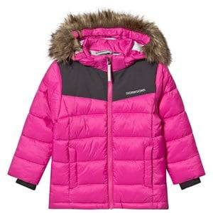 Didriksons Digory Puff Jacket Plastic Pink 90 cm (1,5-2 Years)
