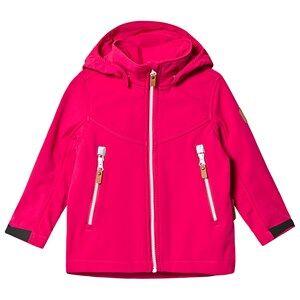 Reima Vandra Softshell Jacket Raspberry Pink Shell jackets