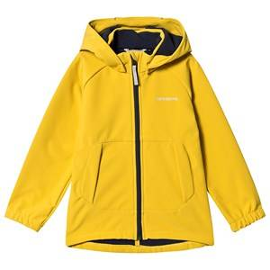 Didriksons Poggin Softshell Jacket Oat Yellow Shell jackets