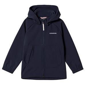 Didriksons Poggin Softshell Jacket Navy Shell jackets
